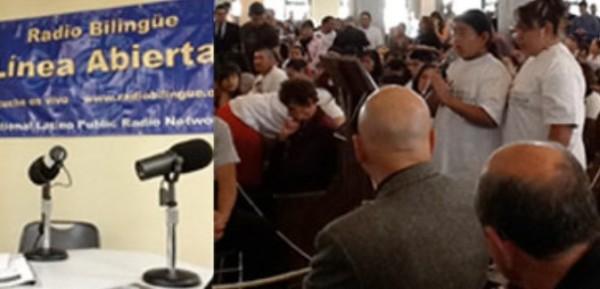Foro Comunitario donde la Sheriff de Fresno, Margaret Mims rindió cuentas el mes pasado al gobierno local y a la comunidad sobre las veces que este año transfirió o facilitó la entrega de un inmigrante indocumentado a ICE. Foto: Radio Bilingüe.