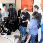 DJ Kazzeo Speaks to KHDC Youth Interns About Studio Equipment