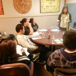 Dr. Estela Porras Presents to KHDC Youth Interns About the Important Role Media Can Play in our Community