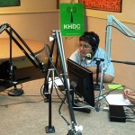 Salinas Youth Radio Trainees interviewing a member of Dreams of New York