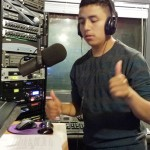 KHDC Youth Radio Trainee Gustavo Flores