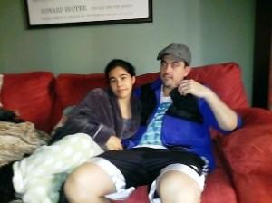 Jenny y Camilo, su esposo