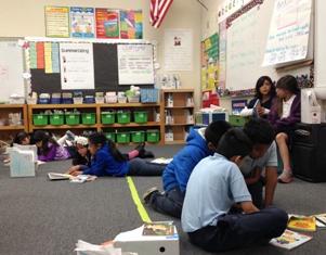 Escuela Comunitaria César Chávez en Bell Gardens, California.