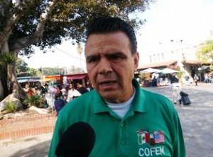 Francisco Moreno de la Confederación de Clubs Michoacanos LA