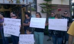 Michoacanos indignados en LA
