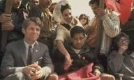 César Chávez y Robert Kennedy en una huelga de hambre