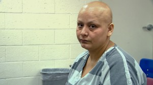 Breast cancer patient Ruth Carmina Alvarez was in jail for 17 days, unable to prepare for an upcoming mastectomy. Photo: Dan Devivo.