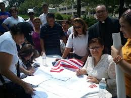Registrando votantes