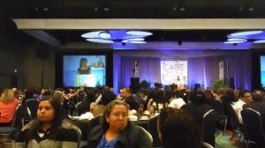 Durante convención, auspiciada por la Asociación de California para la Educación Bilingüe (CABE)
