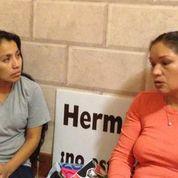 Elvira Arellano  y Herminia Gsllegos