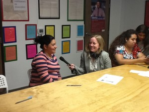 Zaidee Stavely entrevista a madre, Lourdes Cerna.