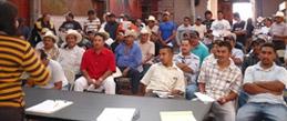 Reunión de asesoría del Centro de Derechos del Migrante