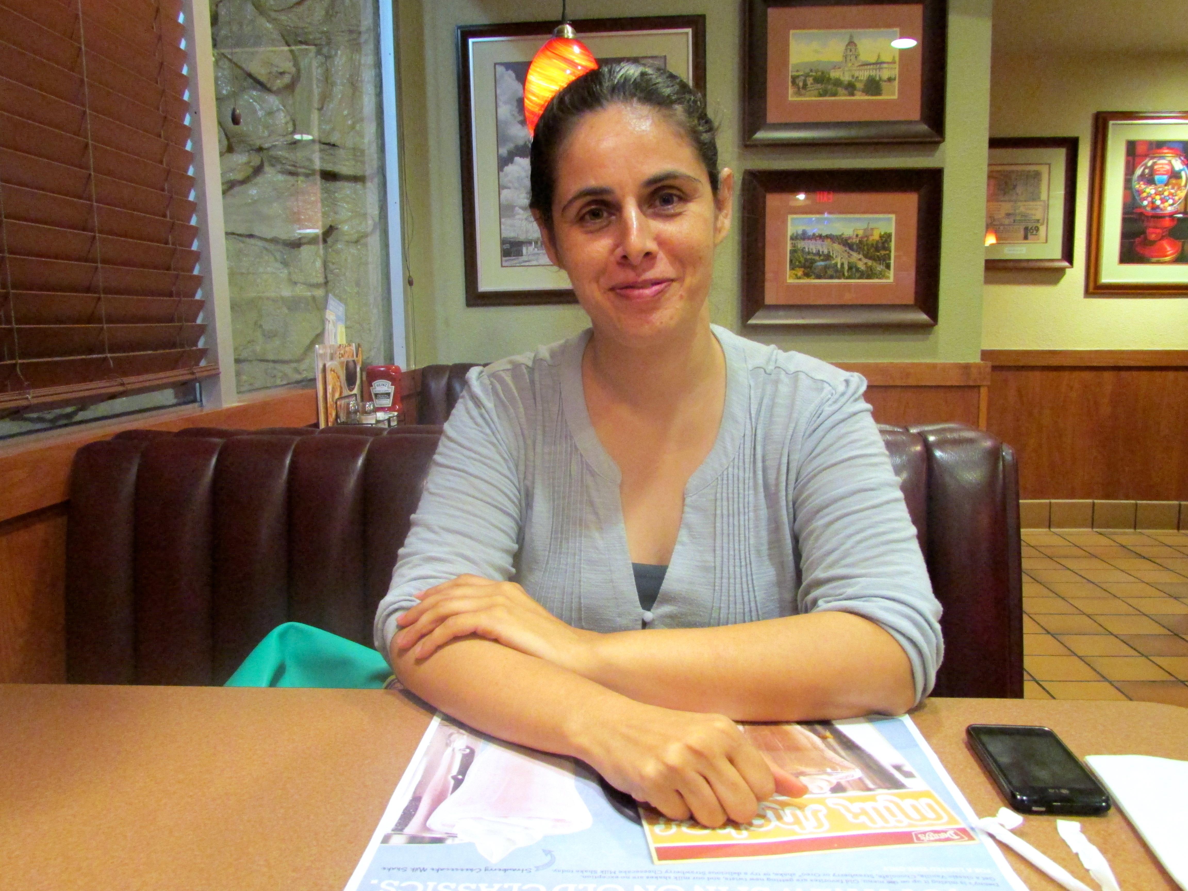 Maricela Guzmán, veterana que antes vivió en su auto