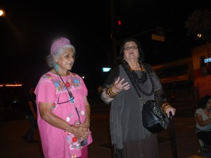 Ofelia Esparza y Amalia Mesa-Baines. Foto: Rubén Tapia.