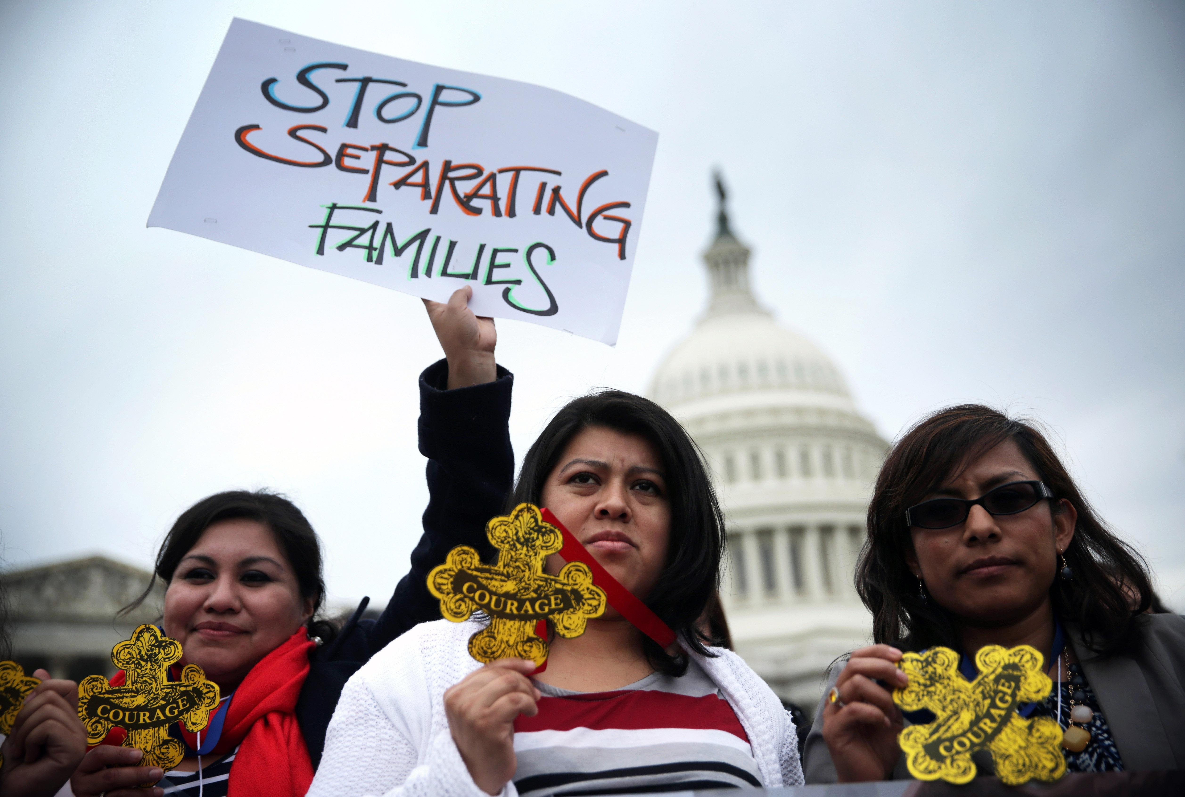 Marcha al Capitolio en Washington, DC. Foto Natividad Gonzalez