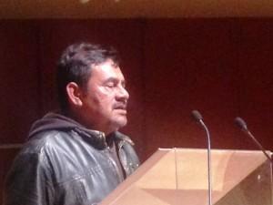 Felipe de la Cruz en St. Peters, Midtown, Manhattan. Foto:  Marco Vinicio González