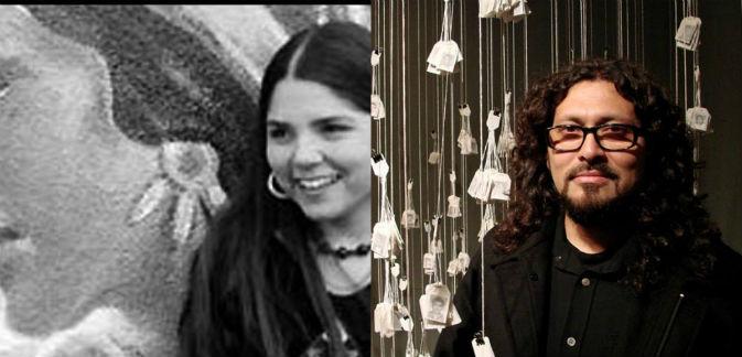 Leticia Hernández y Víctor Cartagena