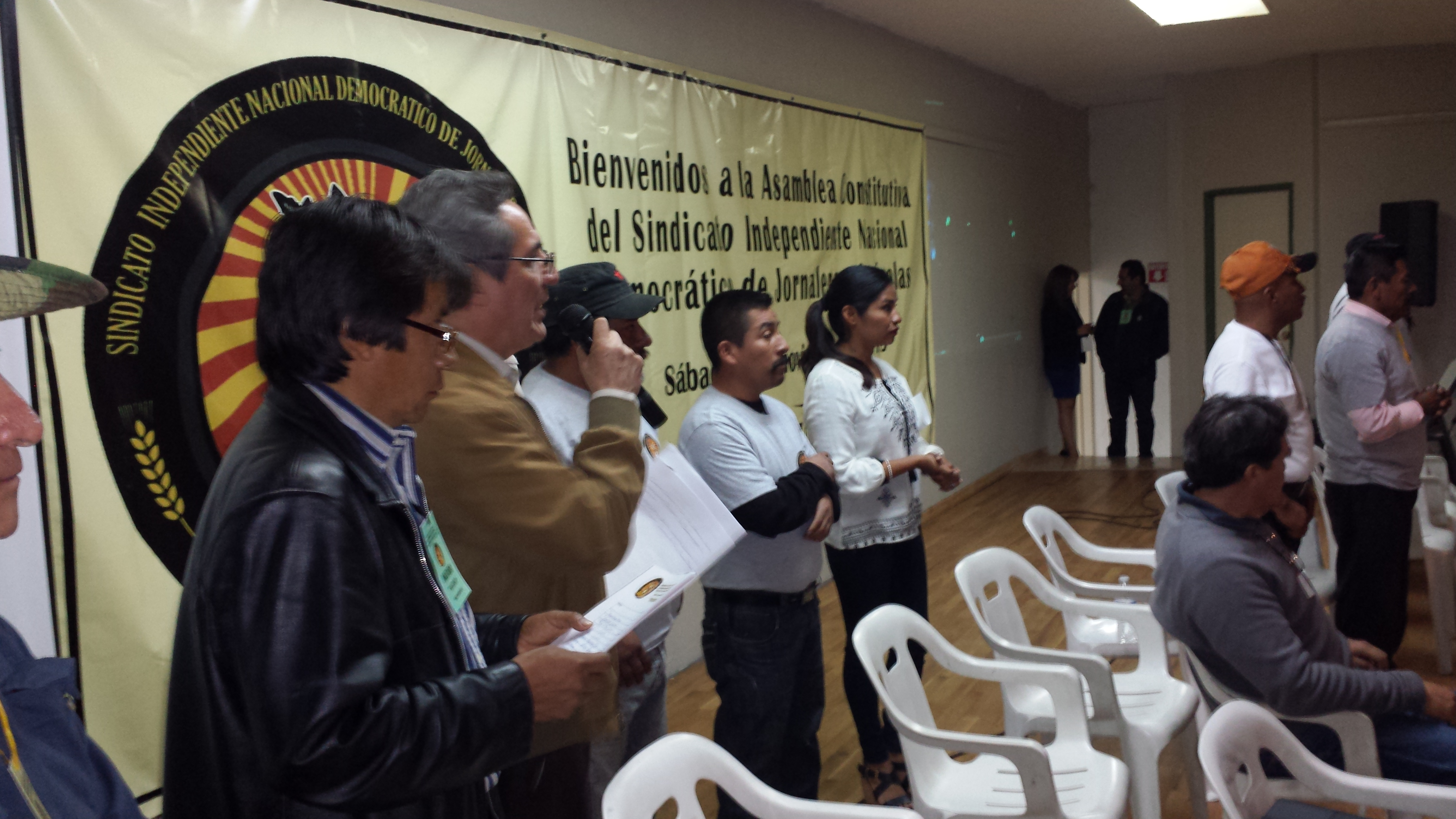 Inicia ceremonia de fundacion del SINDJA