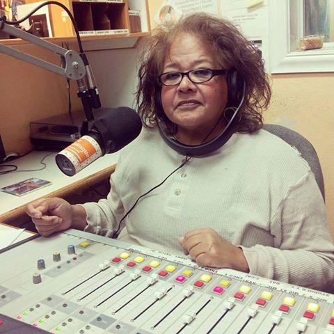 Imagen póstuma de Alma Garza, originaria de las ciudades Donna, TX y Fresno, CA por adopción,  donde se desempeñó durante tres décadas como presentadora del programa de mayor audiencia de música Tex-Mex,