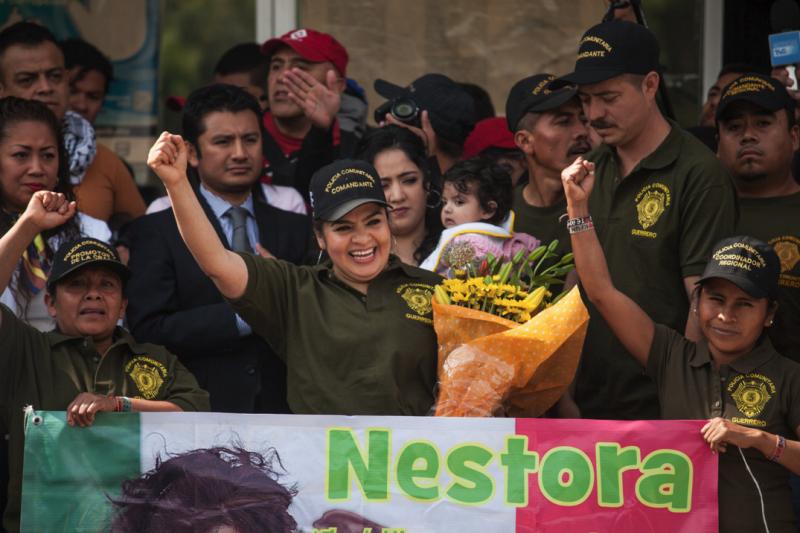 Nestora libre - Cesar Martínez López-Agencia Cimacnoticias.