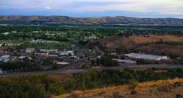 Vista aérea de Yakima, Washington. Foto: Wikipedia.