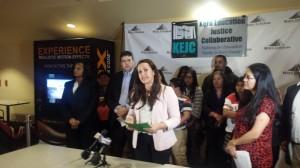 Erika Brooks, directora del programa de Educación de la DHF. Foto: Rubén Tapia