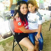 Isamar Sanchez e hija