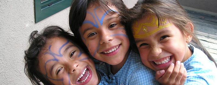 Niños que se benefician ahora del Medi-Cal. Foto:   www.cacsb.org