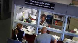 Continúa el registro de votantes en La Florida gracias a la decisión de un juez. Foto: CNBC
