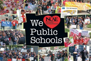 Foto: Cortesía de North Carolina teacher & Durham Association of Educators.