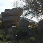 Vibora de Piedra, lugar emblematico en San Jose de la Zorra y una de los simbolos principale de los  Kumiai. Foto: Ruben Tapia.