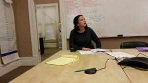 Kristin Dobbin, de CWC.