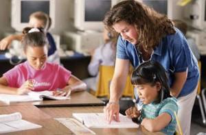 En una escuela pública. Foto: www.wanttoteach.com