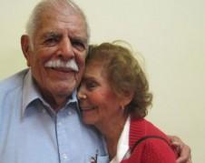 Rudy Calderón y Christina Reed dicen disfrutar de cada día que están juntos. Foto: Francisco Castro/La Opinión