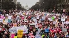 Paseo Nacional Washington, DC. 21 de enero de 2017. Foto: newshour-tc.pbs