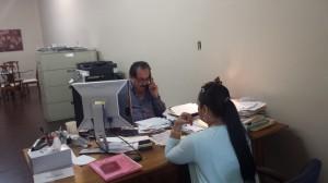 Felipe Aguirre, director de Pro Uno en Maywood.