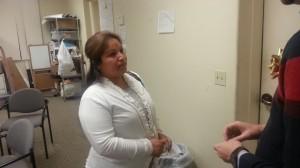 Lorena Rojas, madre de dos alumnos de la escuela preparatoria del Condado de Kern.