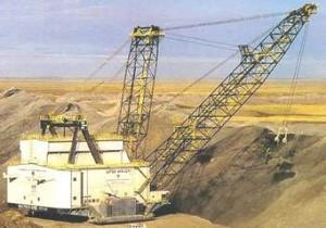 Mina de carbón, Trueno Térmico Negro, Wyoming, EU. Foto: Miningtechnology.com