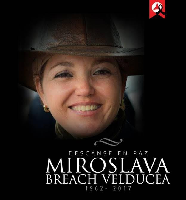 Miroslava Breach, colaboradora del diario Norte de Ciudad Juárez