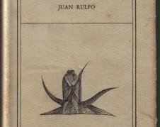 Pedro Páramo, novela, una de las primeras ediciones.