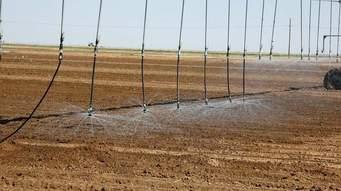 Regadío automatizado en campos agrícolas del Valle Central de California. Foto: agrilifetoday.flickr.com