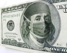 21908269-This-photo-illustration-of-Ben-Franklin-wearing-a-health-care-mask-and-bonnet-on-a-one-hundred-dolla-Stock-Illustration