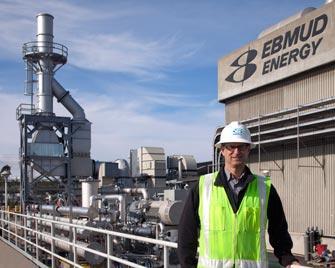 La planta de tratamiento de aguas residuales de EBMUD en La Bahía es más que una planta de tratamiento, es una fábrica verde. Foto: East Bay Municipal Utility District