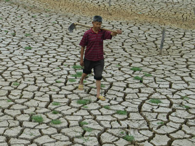 Algunas de las posibles consecuencias del cambio climático en China. Foto: www.alphabetics.info