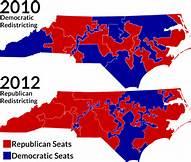 Diferencia de un mismo distrito electoral sometido a rediseño de sus líneas distritales en dos elecciones diferentes. Foto: ngarcade.com