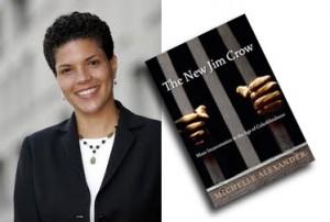 Michelle Alexandre, autora del libro The New Jim Crow. Foto: lahoranews.net