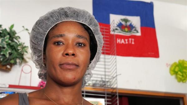 'Lucy', Elicione Choles, de 27 años de edad es de Puerto Príncipe, Haití.