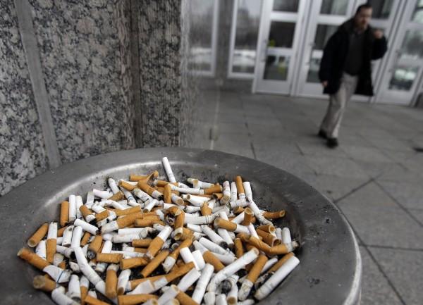 En la Semana Libre de Tabaco en la Florida la foto es parte de una campaña antitabaco. Foto: Palm Beach Post Health Beat.