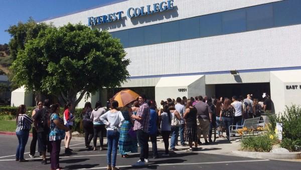 Estudiantes de un colegio de privado de California. Foto: Los Angeles Times