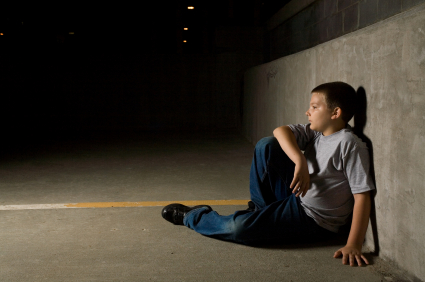 Alumno de 12vo grado viviendo en las calles de la ciudad de Nueva York. Foto: Departamento de Educación de la Ciudad de Nueva York.